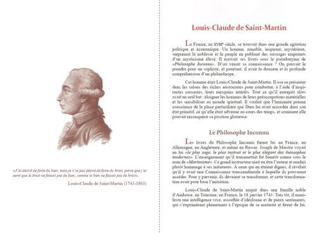 Brochure d'information : <em>Lumière Martiniste</em>