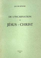 De l'incarnation de Jésus-Christ